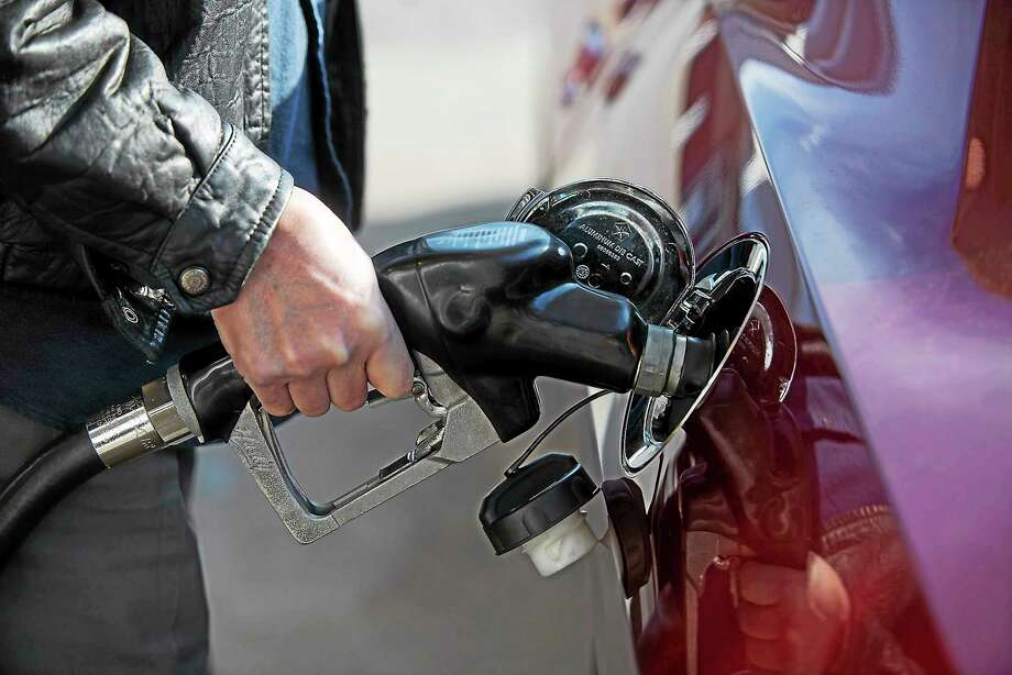 With gas prices nearing a 10-year low, drivers all over Delaware County are filling up with vigor as the price per gallon nears the $2 mark.  Rick Kauffman — Daily Times Photo: File Photo