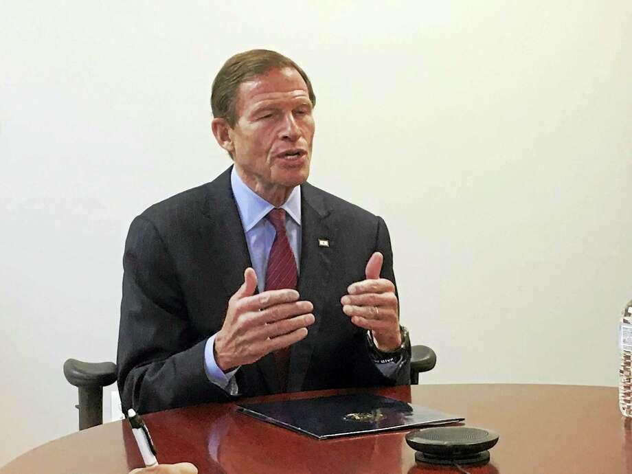 U.S. Sen. Richard Blumenthal Photo: HEARST CONNECTICUT MEDIA FILE PHOTO