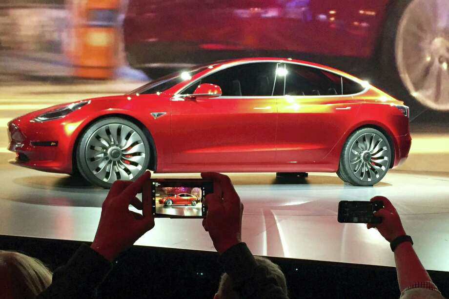 Tesla Motors' Model 3 sedan Photo: Justin Pritchard / The Associated Press File   / Copyright 2017 The Associated Press. All rights reserved.