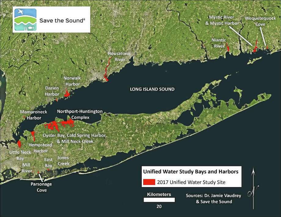 Harbors slated for water testing by Save the Sound Photo: Contributed Photo