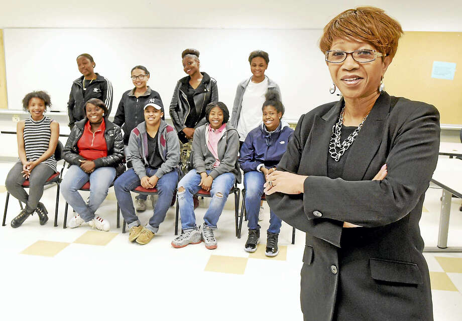Jeannette Sykes is the founder of the Perfect Blend, an organization that mentors New Haven high school girls and recognizes women who have contributed to the New Haven community. Photo: Peter Hvizdak — New Haven Register   / ©2017 Peter Hvizdak