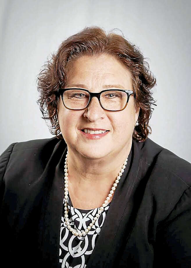 Margaret Novicki, a recently retired United Nations official who grew up in Orange will be the Democratic candidate for Orange first selectman in this year's November election. (Alexandra Crocco - Contributed photo) Photo: Digital First Media / Contact for use.@2014 Lexi Crocco