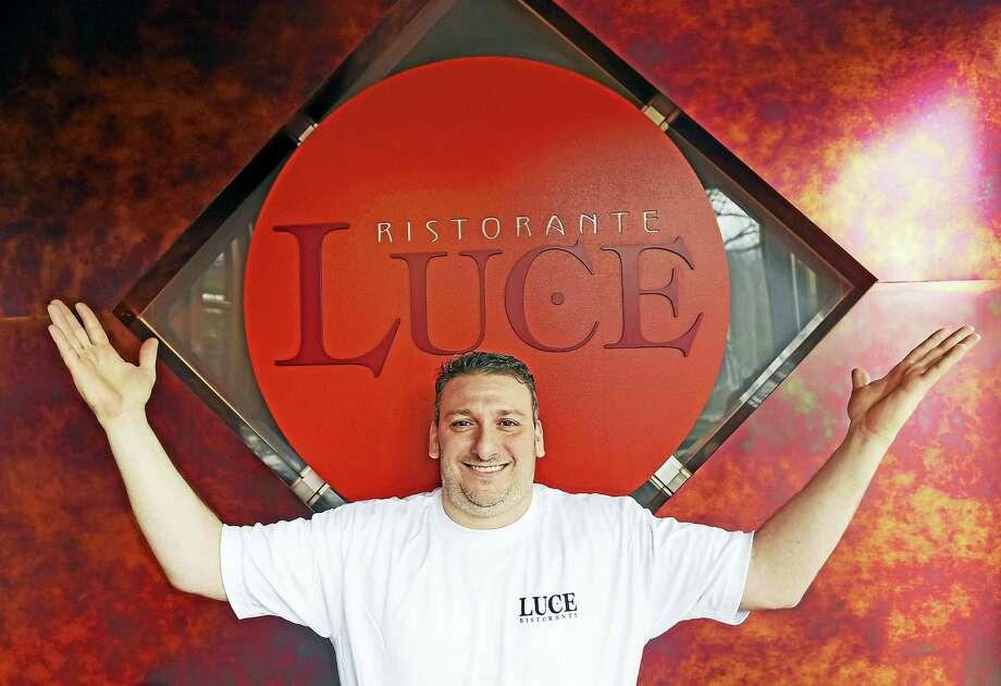 Paul Iannaccone, co-owner of Luce, a Hamden restaurant on Whitney Avenue in Hamden that is celebrating its 25th anniversary. Photo: Peter Hvizdak — New Haven Register   / ©2017 Peter Hvizdak