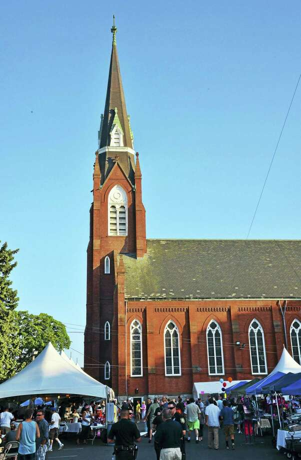 The 2015 Summer Food & Craft Festival at St. Mary's Church in Derby. Photo: CONTRIBUTED FILE PHOTO — MERCEDES WALKER