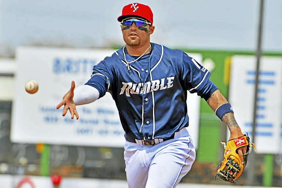 UConn product L.J. Mazzilli is trying to become more versatile with the Binghamton Rumble Ponies, the Double-A affiliate of the New York Mets. Photo: Photo Courtesy Of Rick Nelson Photography