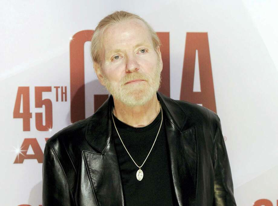 In this Nov. 9, 2011, file photo, singer Gregg Allman arrives at the 45th Annual CMA Awards in Nashville, Tenn. On Saturday, May 27, 2017, a publicist said the musician, the singer for The Allman Brothers Band, has died. Photo: AP Photo/Evan Agostini, File    / AP2011
