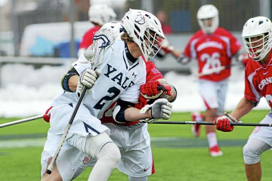 Yale's Ben Reeves. Photo: Photo Courtesy Of Yale Athletics
