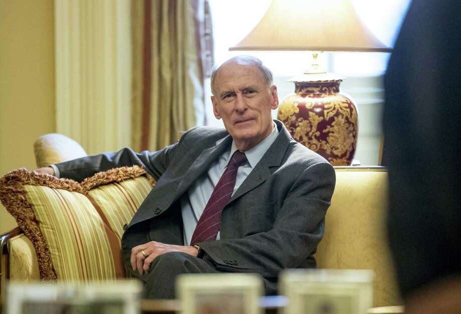 In this Jan. 23, 2017 photo, National Intelligence Director nominee, former Indiana Sen, Dan Coats waits for the start of a meeting with Senate Majority Leader Mitch McConnell of Ky. on Capitol Hill in Washington. Partisan discord is seeping into House and Senate intelligence committee investigations of the Kremlin's interference in the 2016 presidential election and whether President Donald Trump has ties to Russia. The issue will likely surface at the Feb. 28 Senate confirmation hearing for former Coats. Photo: AP Photo — J. Scott Applewhite, File   / AP