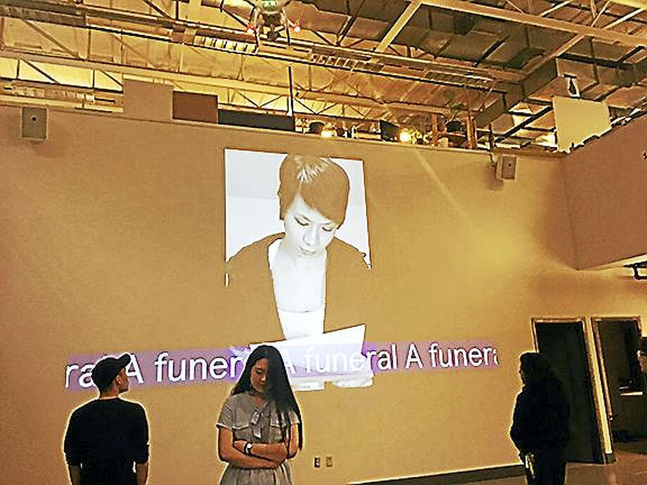 "Onnie Chan's ""A funeral..."" Photo: Photo Courtesy Of Onnie Chan"