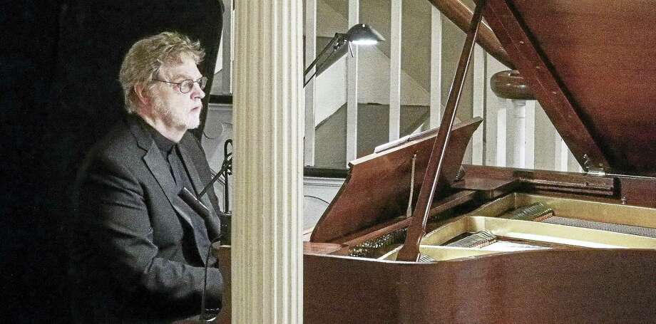 Pianist Gary Chapman playing with Orchestra New England. Photo: Photo Courtesy Of Orchestra New England