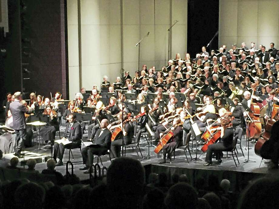 The Waterbury Symphony Orchestra in concert. Photo: Photo Courtesy Of WSO