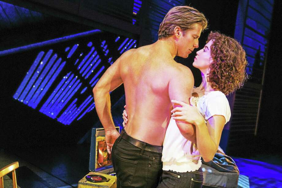 Christopher Tierney (Johnny) and Bronwyn Reed (Baby) share a sultry moment. Photo: Photo Courtesy Of Matthew Murphy