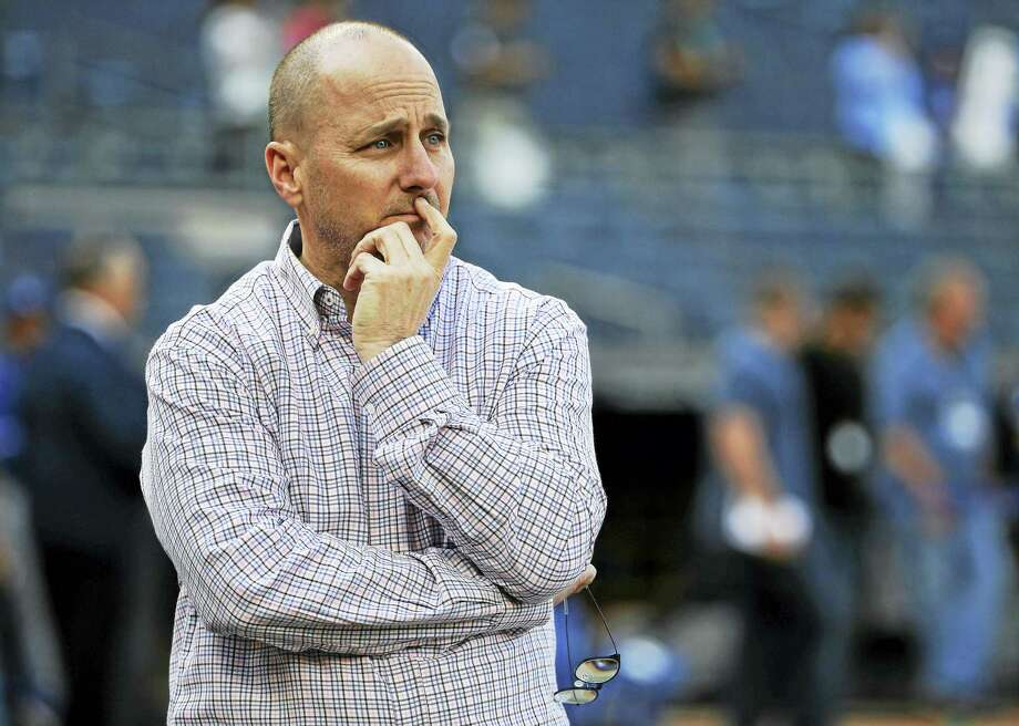 New York Yankees general manager Brian Cashman. Photo: The Associated Press File Photo   / Copyright 2016 The Associated Press. All rights reserved. This material may not be published, broadcast, rewritten or redistribu