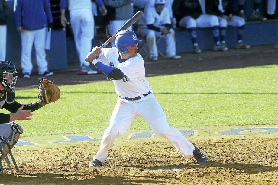 Former Notre Dame-West Haven High standout Greg Zullo is hiting close to .500 for the Southern Connecticut State baseball team. Photo: Photo Courtesy Of SCSU   / Steady Photography http://www.steadyphotography.com