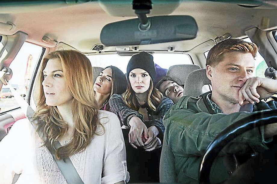 "From left, Jessica Phillips, Kelli Barrett, Jennifer Damiano, Johnny Shea and Sean Allan Krill in Goodspeed's ""Deathless."" Photo: Photo Courtesy Of Adrien Broom"