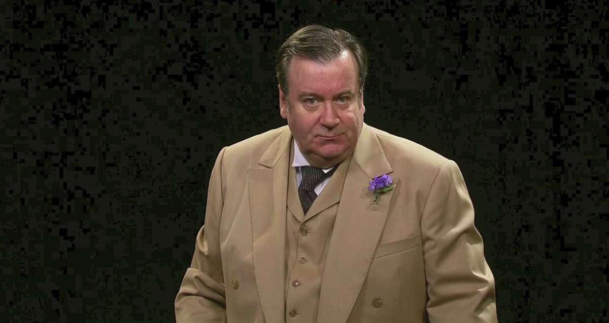 Johnson Flucker as Oscar Wilde.