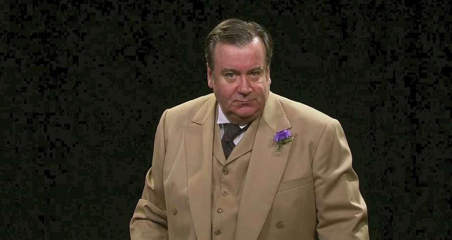 Johnson Flucker as Oscar Wilde. Photo: Contributed