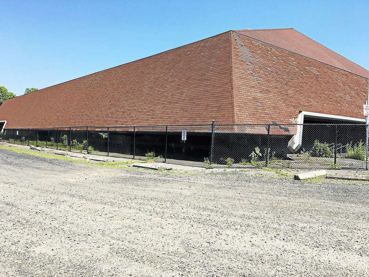 The current Ralph Walker skating rink in New Haven that will undergo extensive repairs and expand to regulation size.