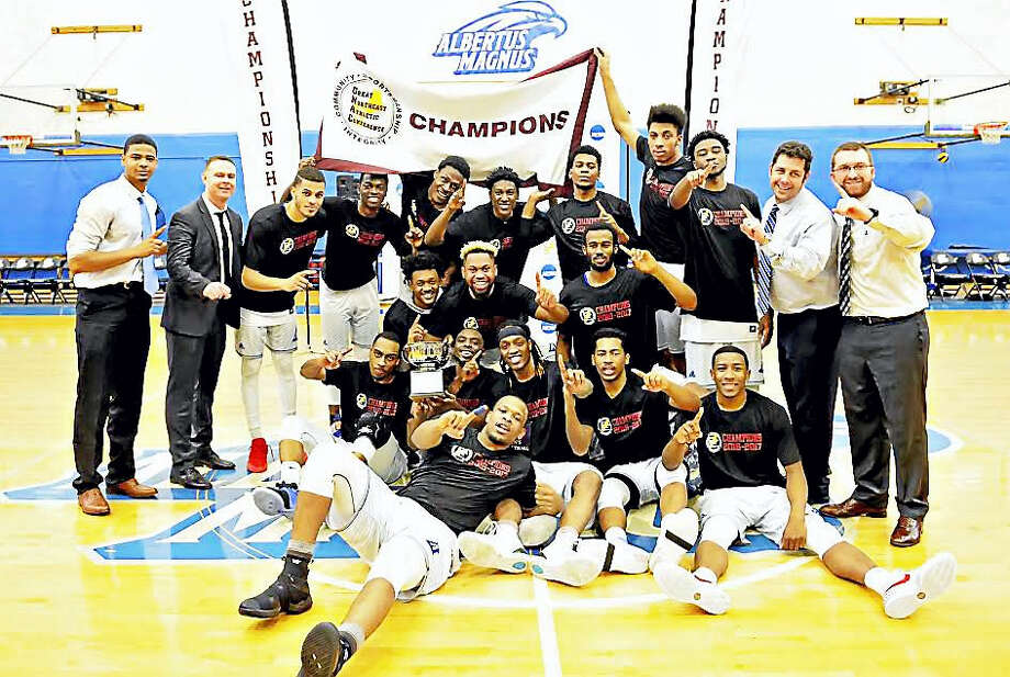 Albertus Magnus won its fifth GNAC title in six years on Saturday and heads to the Division III NCAA tournament on Friday. Photo: Ron Waite - Albertus Magnus   / 2016