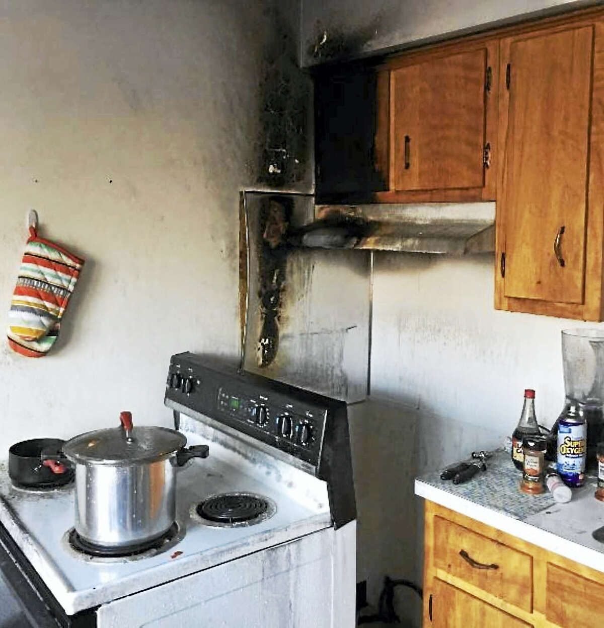 Firefighters responded to a fire on Wednesday evening at Whitney Village Quinnipiac University student housing complex at 3075 Whitney Ave.