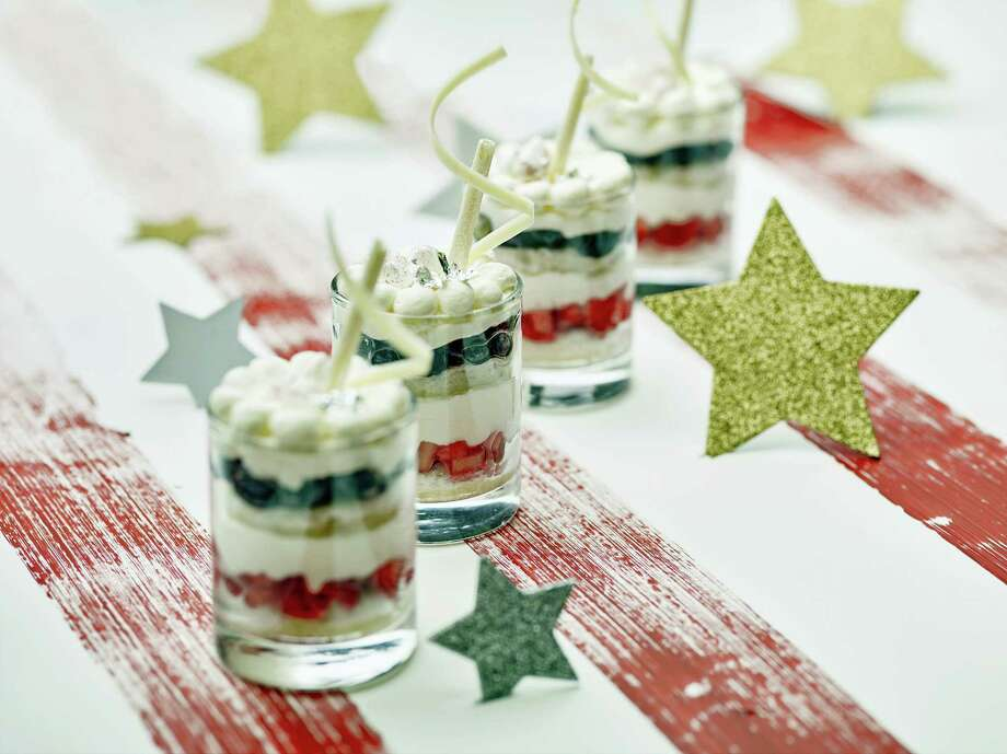 A summer berry trifle will provide the fireworks at any Fourth of July barbecue. Photo: Phil Mansfield / The Culinary Institute Of America Via AP   / © 2017 The Culinary Institute of America - Phil Mansfield