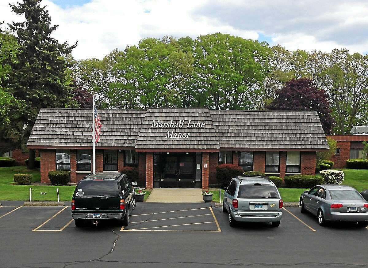 The former Marshall Lane Manor nursing home facility on Marshall Lane in Derby.
