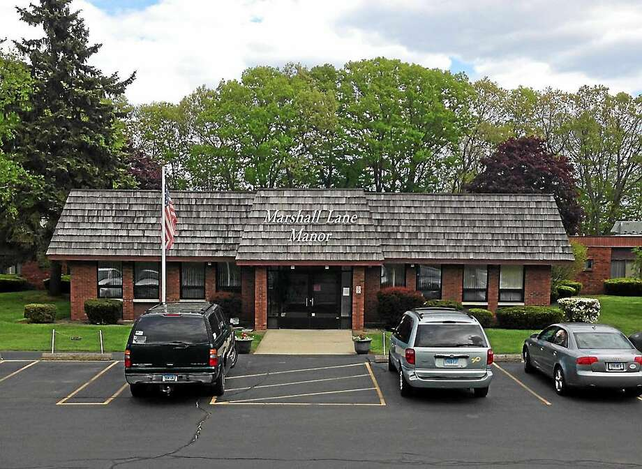The former Marshall Lane Manor nursing home facility on Marshall Lane in Derby. Photo: NEW HAVEN REGISTER FILE PHOTO
