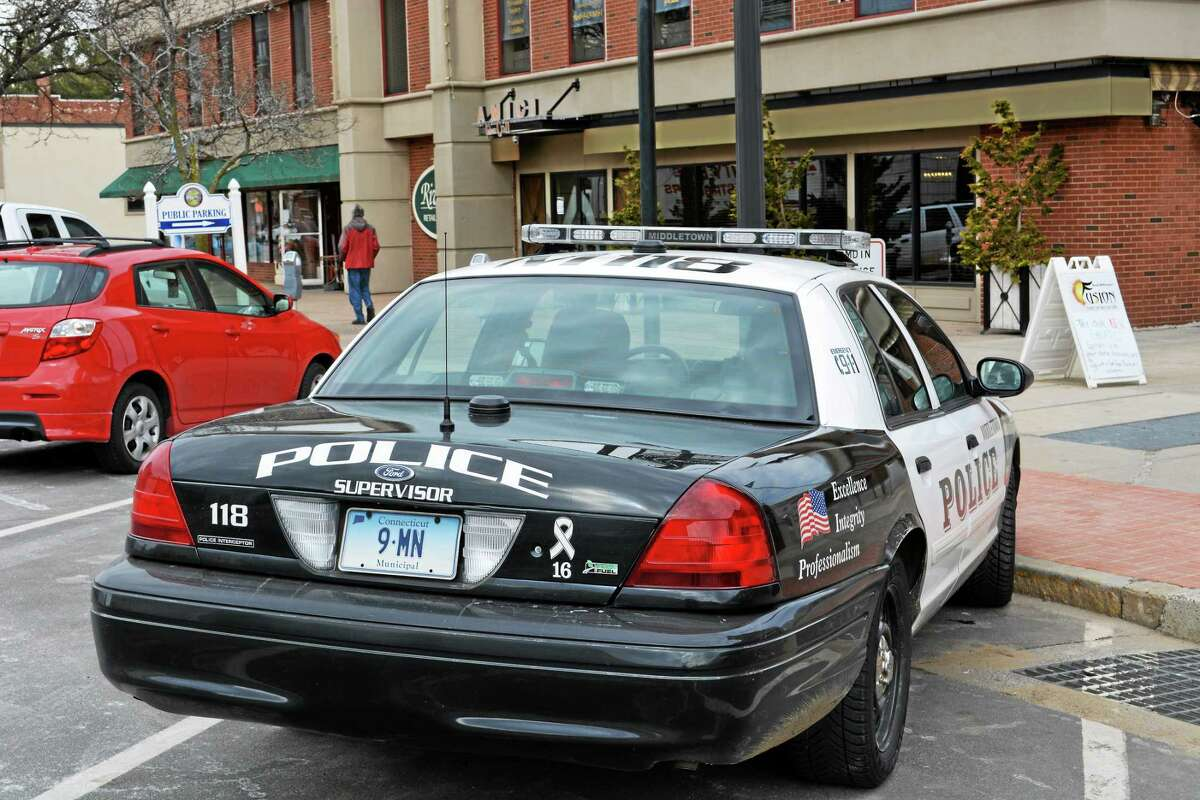 A Middletown police cruiser.