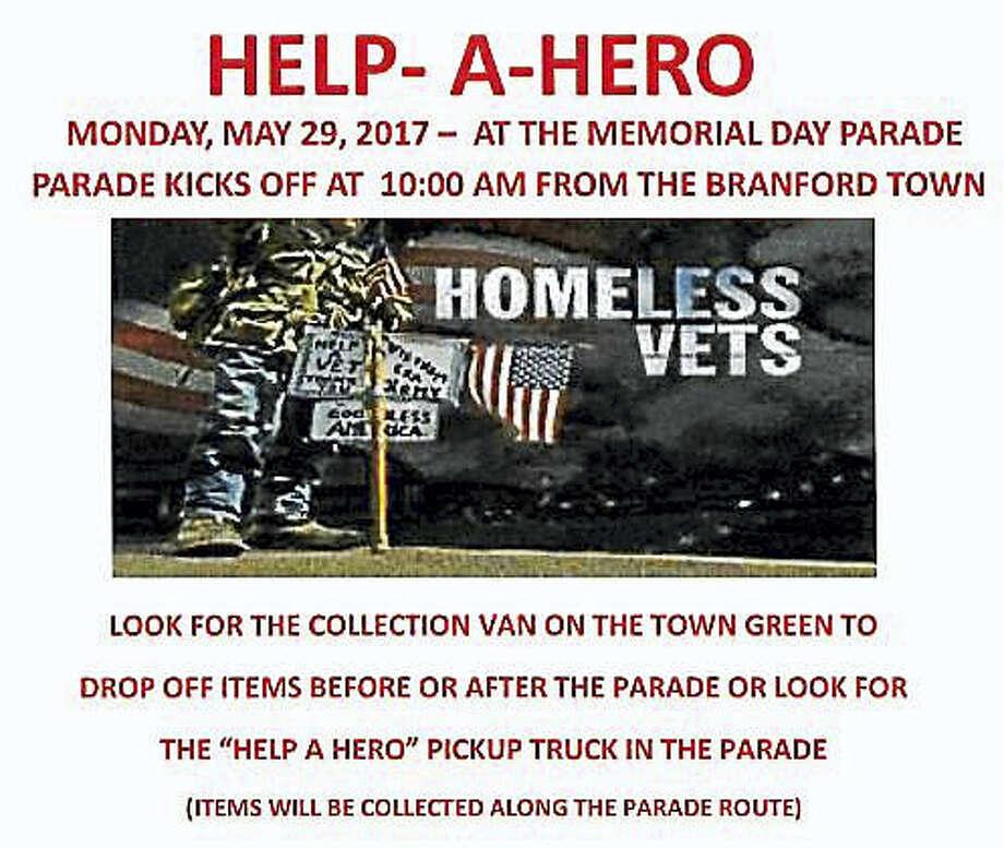 Help-a-Hero flier. Photo: Digital First Media