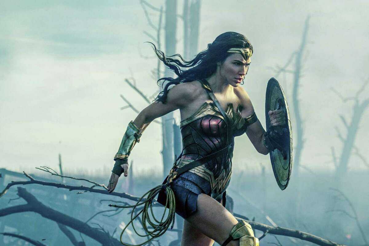 """This image released by Warner Bros. Entertainment shows Gal Gadot in a scene from """"Wonder Woman."""""""