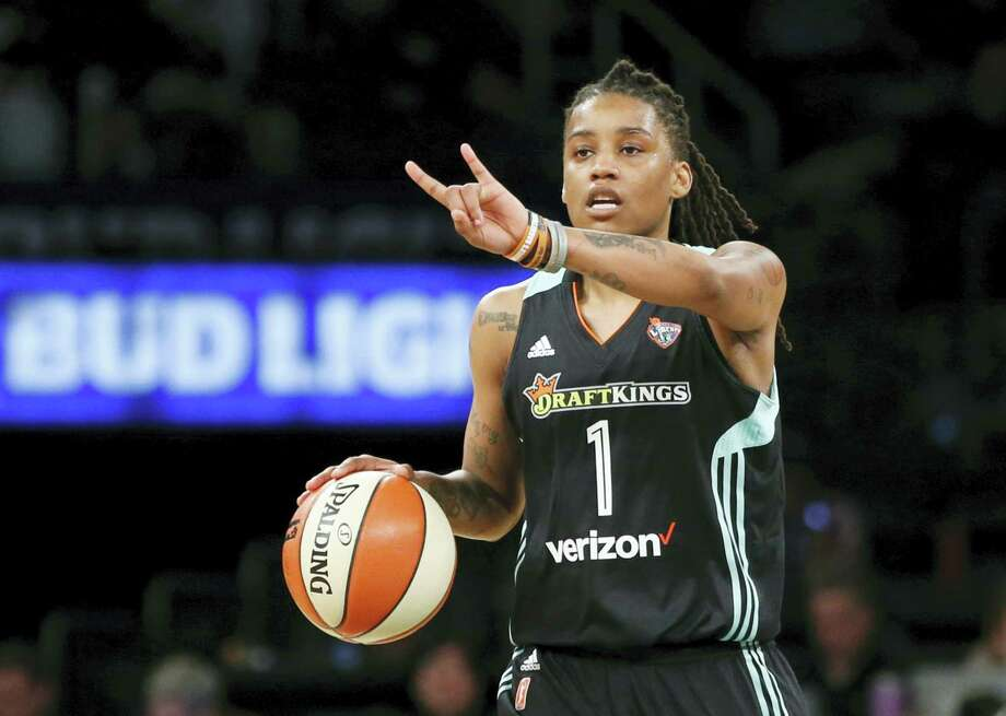 New York Liberty guard Shavonte Zellous. Photo: The Associated Press File Photo   / Copyright 2017 The Associated Press. All rights reserved.