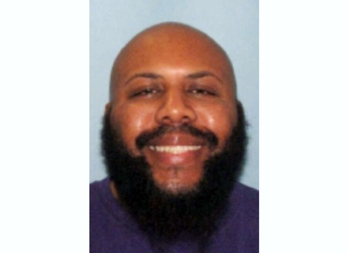CORRECTS TO CLARIFY THE VIDEO WAS NOT BROADCAST ON FACEBOOK LIVE AS POLICE INITIALLY INDICATED, BUT POSTED AFTER THE KILLING — This undated photo provided by the Cleveland Police shows Steve Stephens. Cleveland police said they are searching for Stephens, a homicide suspect, who recorded himself shooting another man and then posed the video on Facebook on Sunday, April 16, 2017. (Cleveland Police via AP)