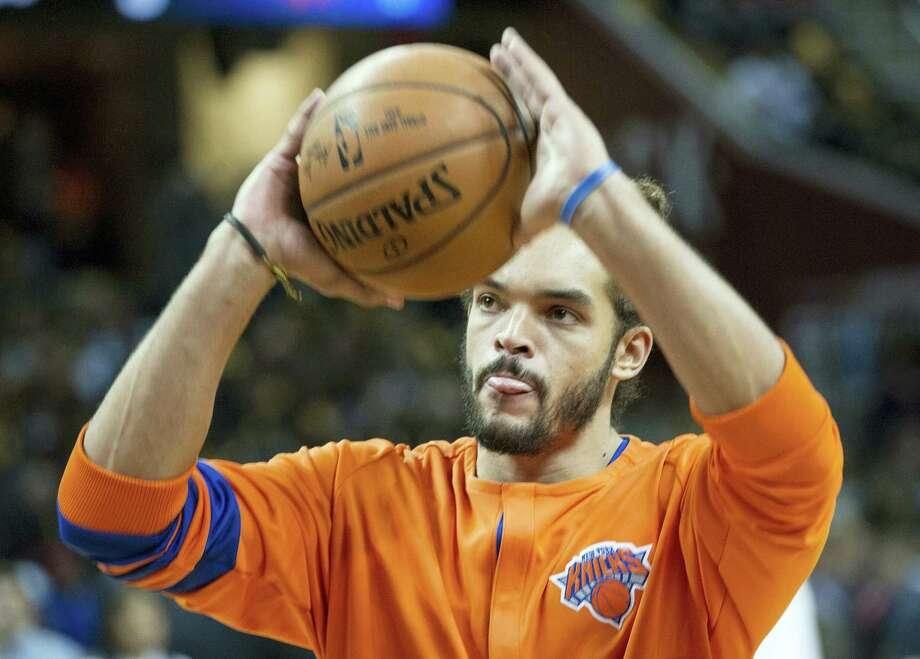 New York Knicks center Joakim Noah. Photo: The Associated Press File Photo   / FR53611 AP