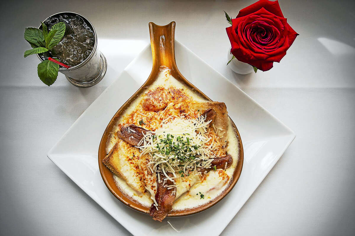 A Hot Brown from the historic Brown Hotel in Louisville, Kentucky.