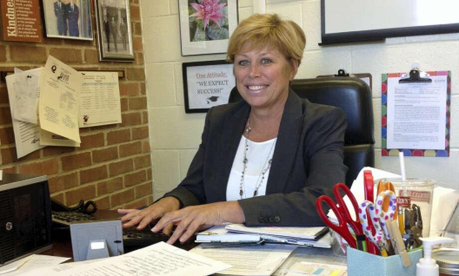 Quinnipiac Real World Math STEM Magnet School Principal Grace Nathman Photo: CONTRIBUTED PHOTO