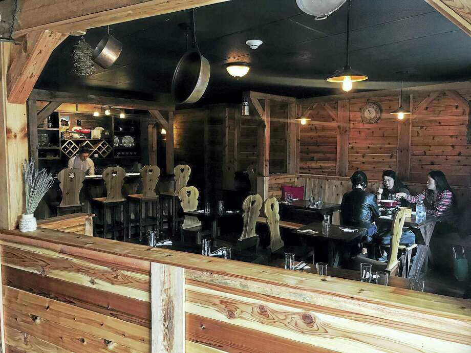 Inside Au Chalet X2019 S Dining E On Whitney Avenue In New Haven Wednesday