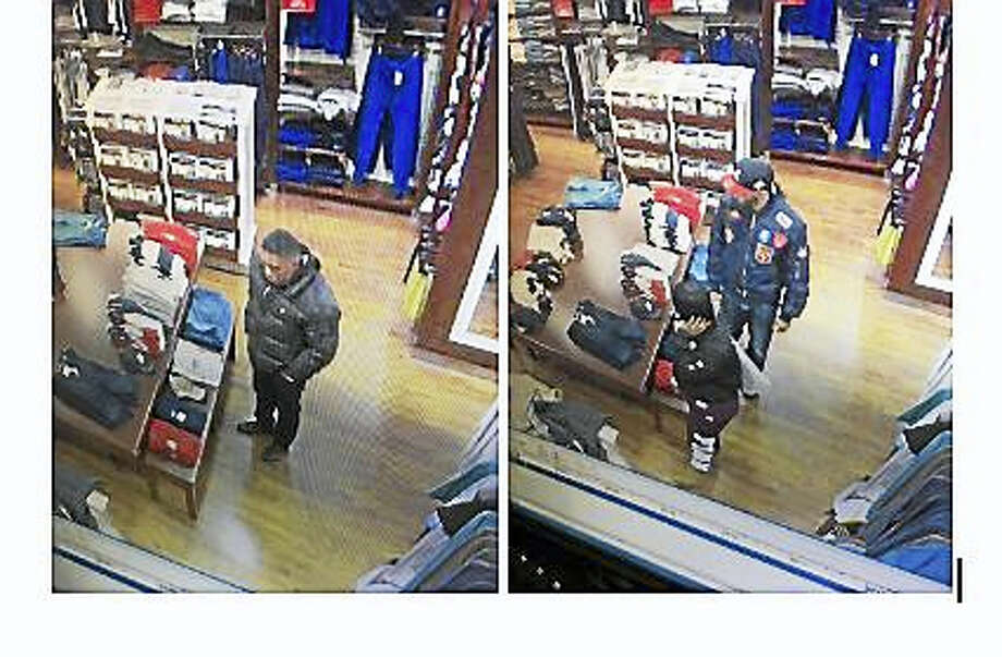 Clinton police seek the public's help in identifying four individuals suspected of shoplifting at Clinton Crossing Premium Outlets on March 26, 2017. (Photo courtesy of Clinton Police Department) Photo: Digital First Media