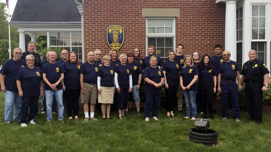 Clinton residents that completed the Clinton Police Citizens Academy. Photo: Clinton Police — Submitted Photo