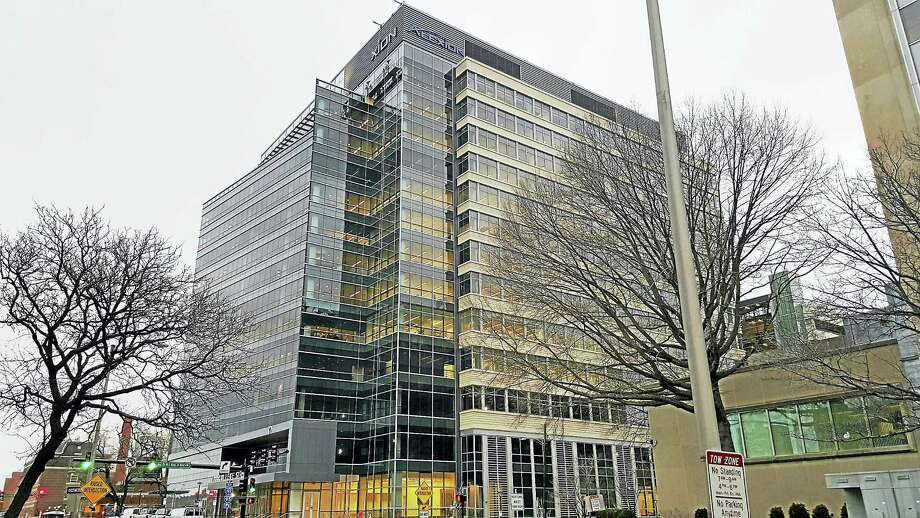 The Alexion building on College Street in New Haven. Photo: File Photo