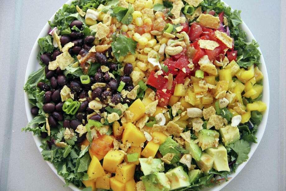Black bean and mango salad. Photo: Melissa D'Arabian — The Associated Press   / Melissa d'Arabian