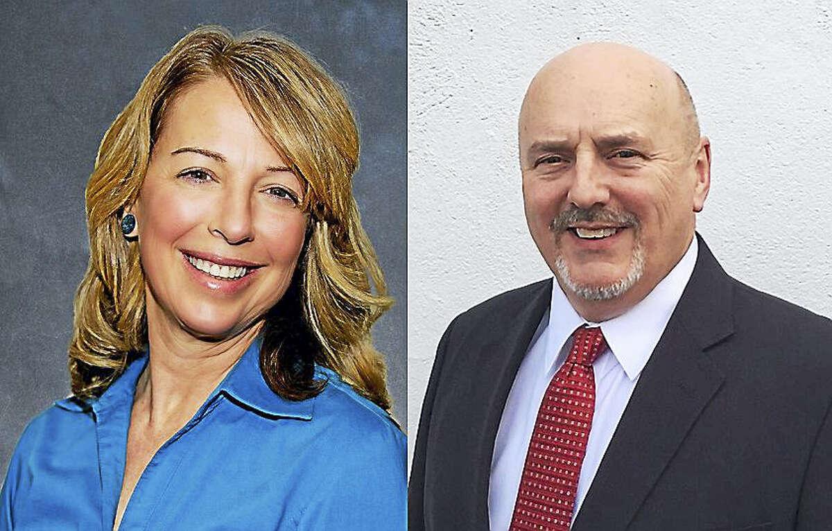 Dorinda Keenan Borer, left, and Edward R. Granfield