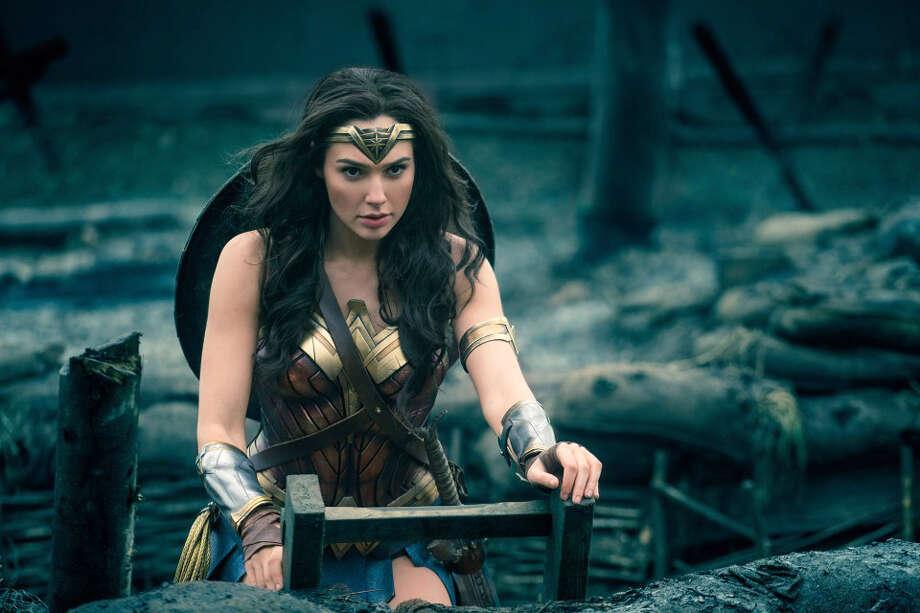 "Gal Gadot as Diana in ""Wonder Woman."" Photo: Clay Enos, DC Comics-Warner Bros. Pictures   / DC Comics-Warner Bros. Pictures"