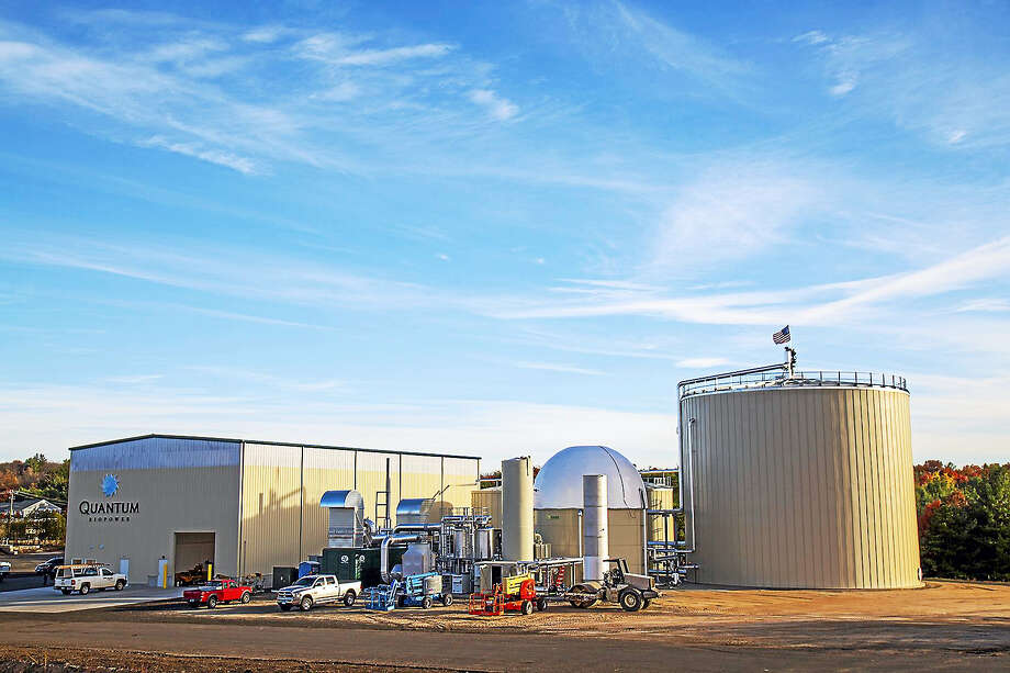 The Quantum bio-fuel plant in Southington, where food waster will be used to create electricity through creation of methane gas. Photo: CONTRIBUTED PHOTO