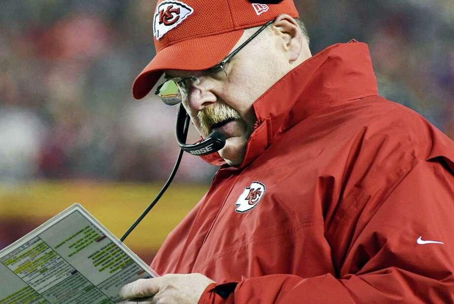 Kansas City Chiefs head coach Andy Reid. Photo: The Associated Press File Photo   / FR34145 AP