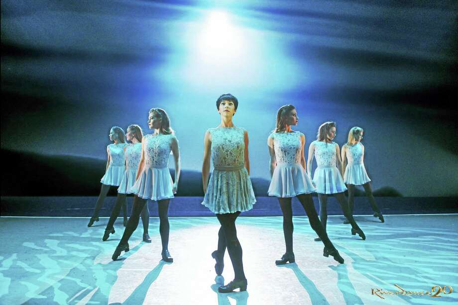 """Members of the cast of """"Riverdance"""" perform the new dance """"Anna Livia."""" Photo: Contributed   / COPYRIGHT ROB MCDOUGALL 2014. LICENCED FOR COMMISSIONING CLIENT ONLY - NO THIRD PARTY USE • NO SALES OR SYNDICATION è"""