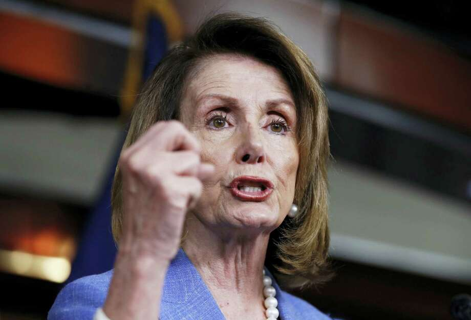 House Minority Leader Nancy Pelosi of Calif. speaks to reporters during a news conference on Capitol Hill in Washington, Thursday, June 22, 2017. Photo: AP Photo/Manuel Balce Ceneta    / Copyright 2017 The Associated Press. All rights reserved.