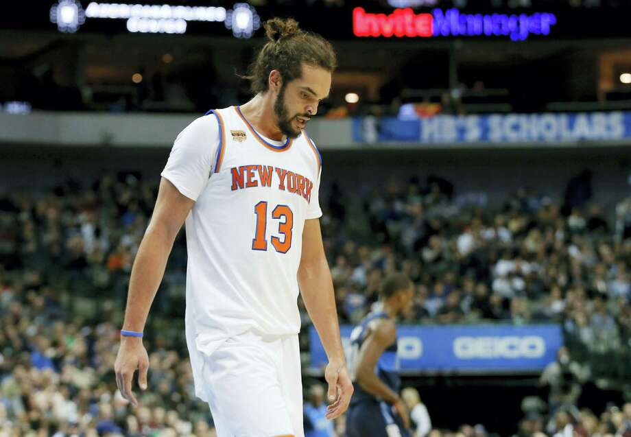 The Knicks' Joakim Noah has been suspended 20 games without pay for violating the league's anti-drug policy, the NBA announced Saturday. Photo: The Associated Press File Photo   / Copyright 2017 The Associated Press. All rights reserved.