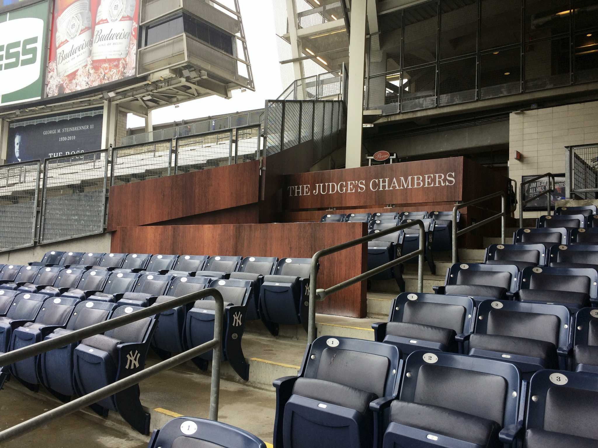The Judge S Chambers Now In Session At Yankee Stadium New Haven Register