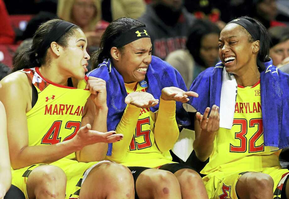 Kiah Gillespie, center, will transfer to Florida State. Photo: The Associated Press File Photo   / Copyright 2017 The Associated Press. All rights reserved.