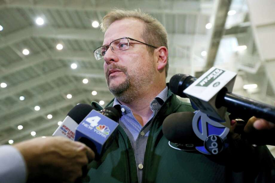 New York Jets general manager Mike Maccagnan. Photo: The Associated Press File Photo   / Copyright 2016 The Associated Press. All rights reserved.